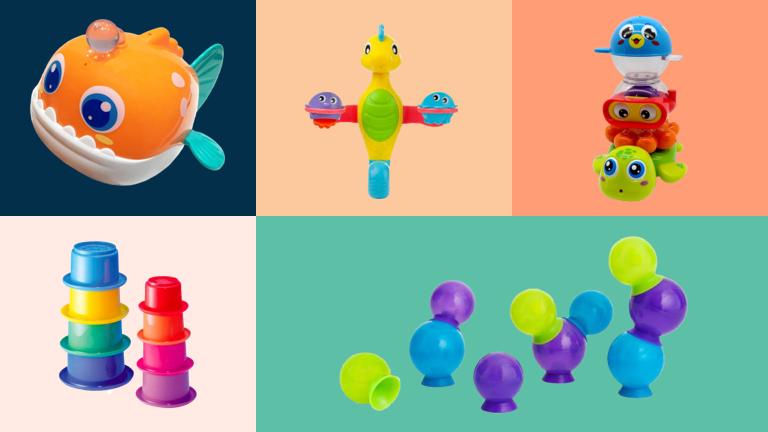 7 مدل اسباب بازی مناسب حمام برای کودکان