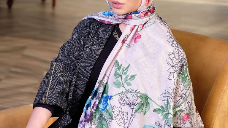 10 مدل شال و روسری برای بهار امسال
