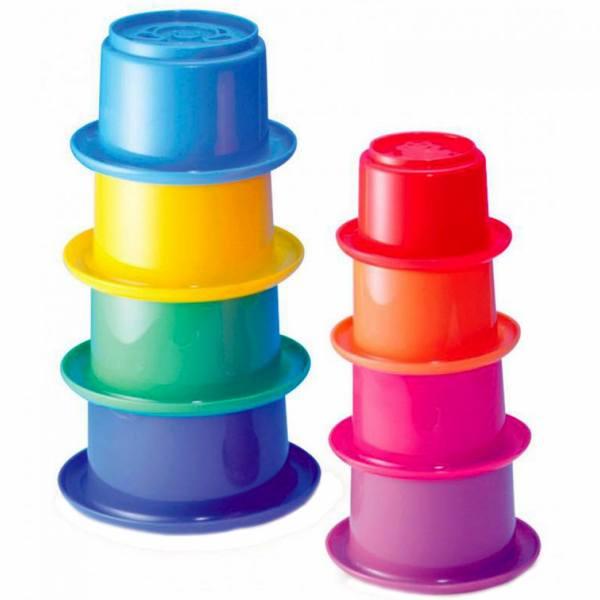 اسباب بازی حمام بلو باکس مدل Stack N Nest Cubes