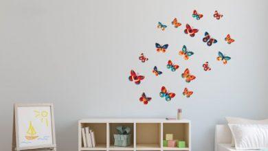 Photo of ۷ مدل استیکر دیواری شیک و زیبا برای اتاق نشیمن