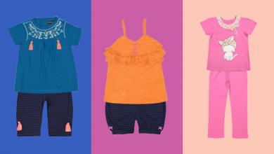 Photo of ۱۰ ست تی شرت و شلوار دخترانه مناسب زیر ۶ سال