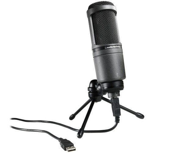 بهترین میکروفون Condenser: Audio Technica AT2020USB