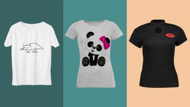Photo of ۹ مدل تیشرت پرفروش زنانه با تم سیاه و سفید