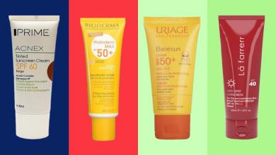 معرفی بهترین و پر فروش ترین ضد آفتاب های رنگی