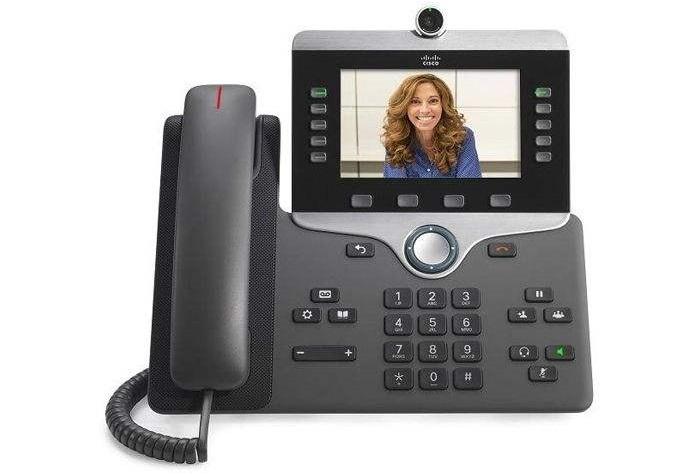 تلفن تصویری : تلفن تحت شبکه سیسکو مدل CP-8865-3PCC-K9