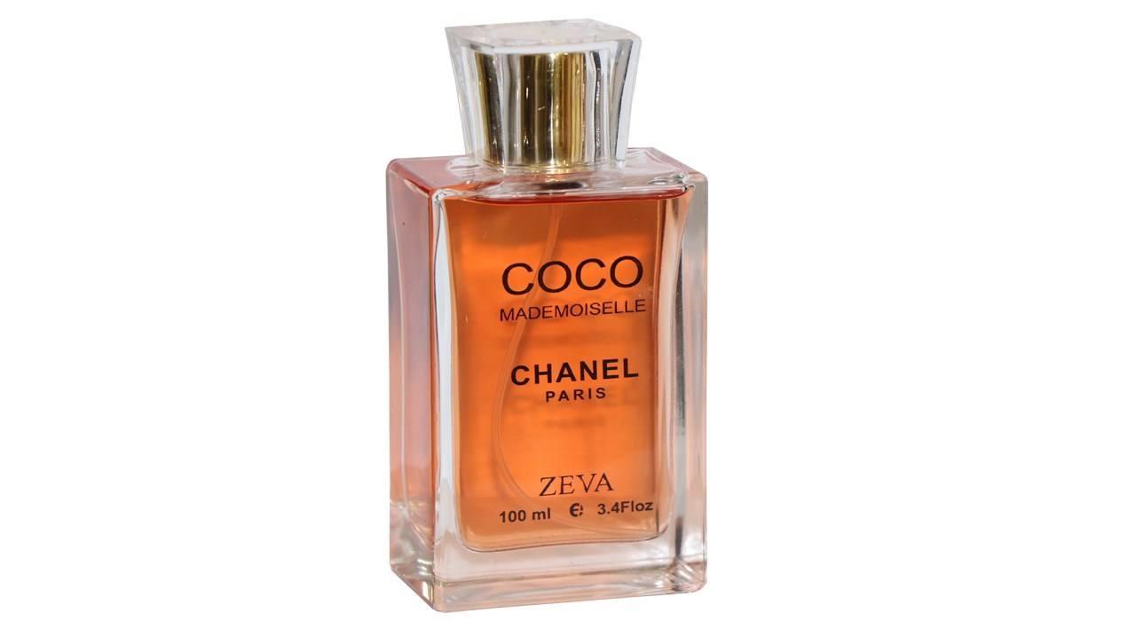 ادوپرفیوم زنانه زوا مدل coco mademoiselle chanel حجم 100 میلی لیتر