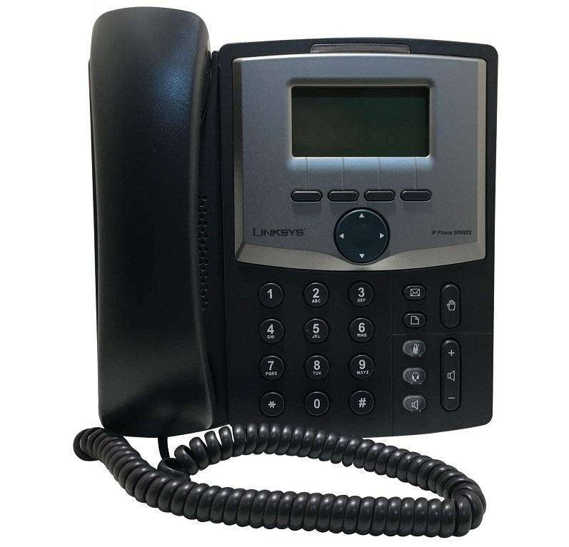 تلفن ارزانقیمت : تلفن تحت شبکه لینک سیس مدل SPA 922