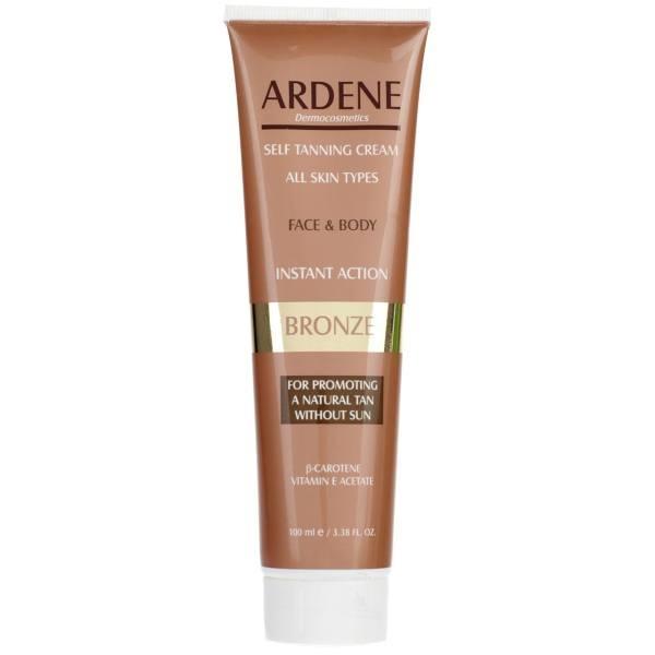 کرم برنزه کننده Arden مدل Face And Body Skin حجم 100 میلی لیتر