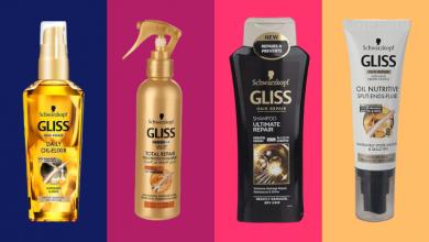 Photo of بهترین محصولات مراقبت از مو از برند معتبر گلیس (Gliss)