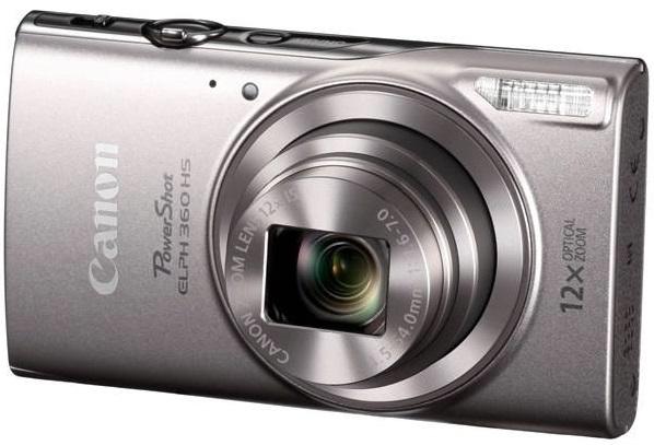 بهترین دوربین با ارزش خرید بالا: Canon PowerShot ELPH 360
