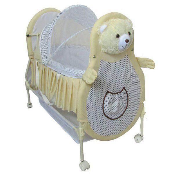 تخت نوزاد کوشا طرح خرس مدل SANIKO11