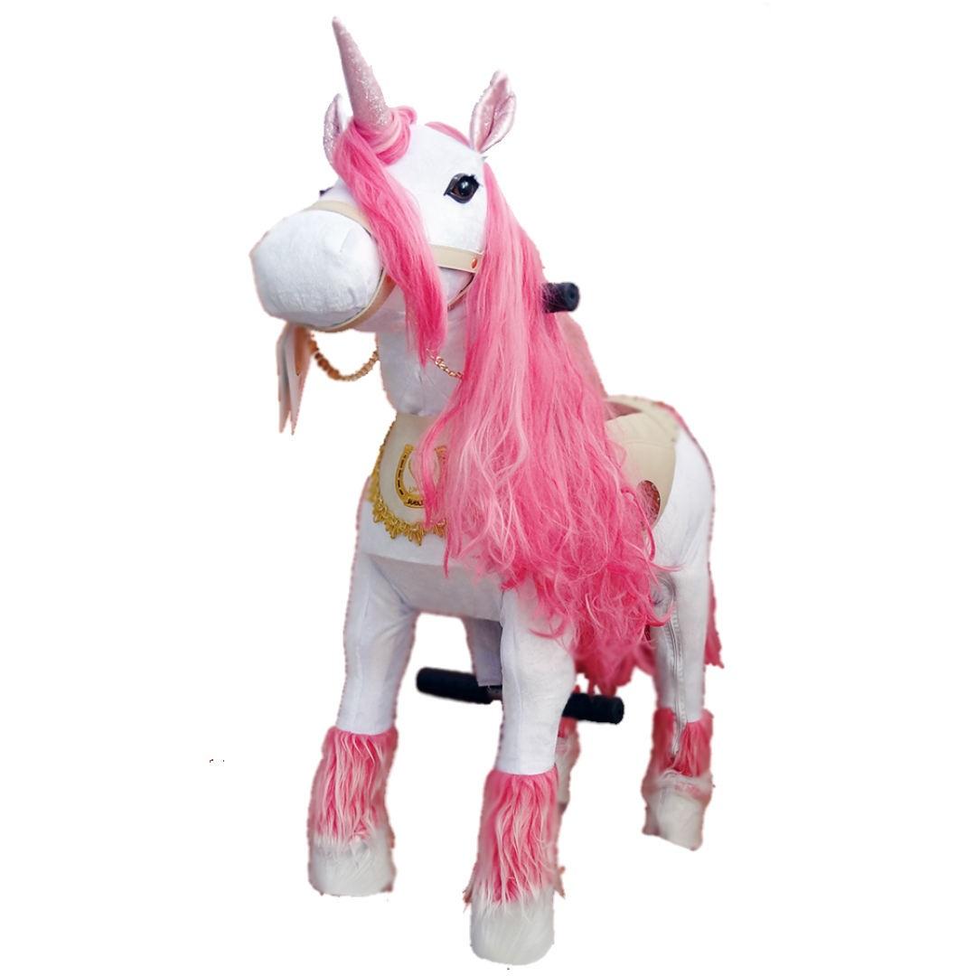 اسب رکابدار شادلین مدل تک شاخ سفید کد 8938