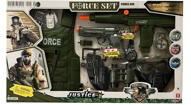 اسباب بازی جنگی مدل force set
