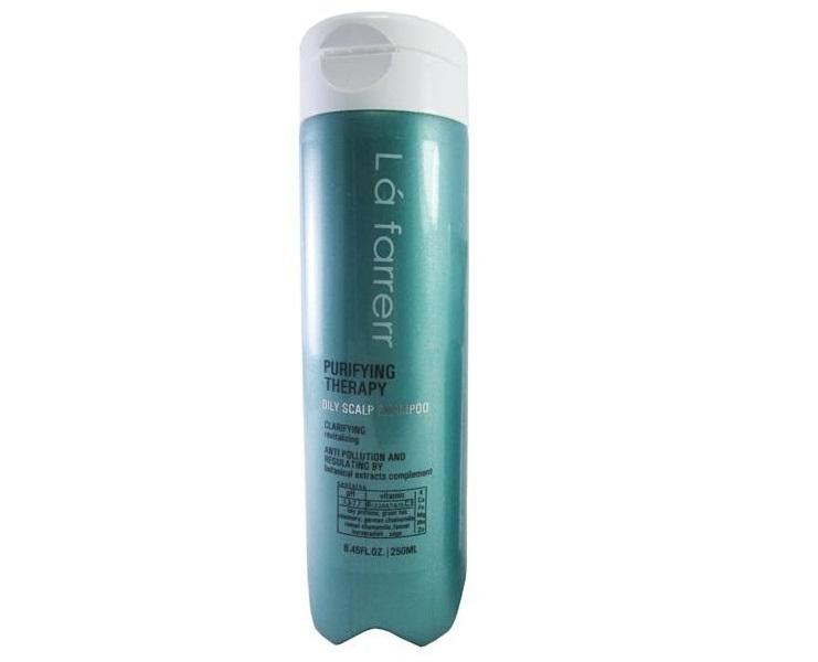 شامپو مخصوص موهای موهای چرب و کدر لافارر مدل Oily حجم 250 میلی لیتر