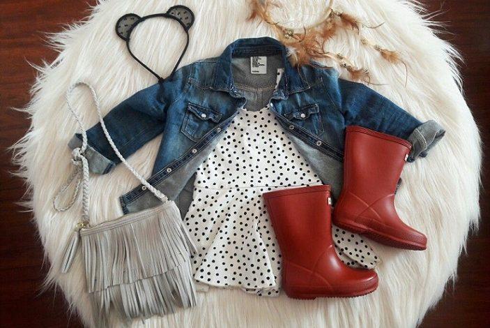 Photo of ست لباس پاییزی کودکانه به سبک پینترست، ویژه دختربچهها