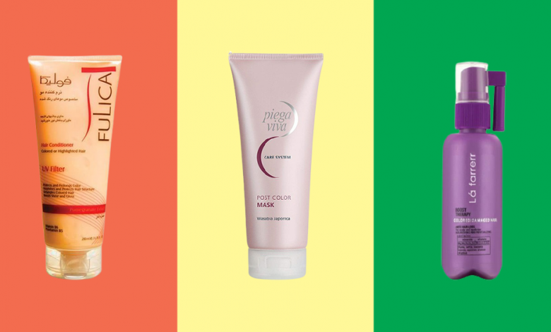 Photo of ۵ محصول عالی برای محافظت از موهای رنگ شده