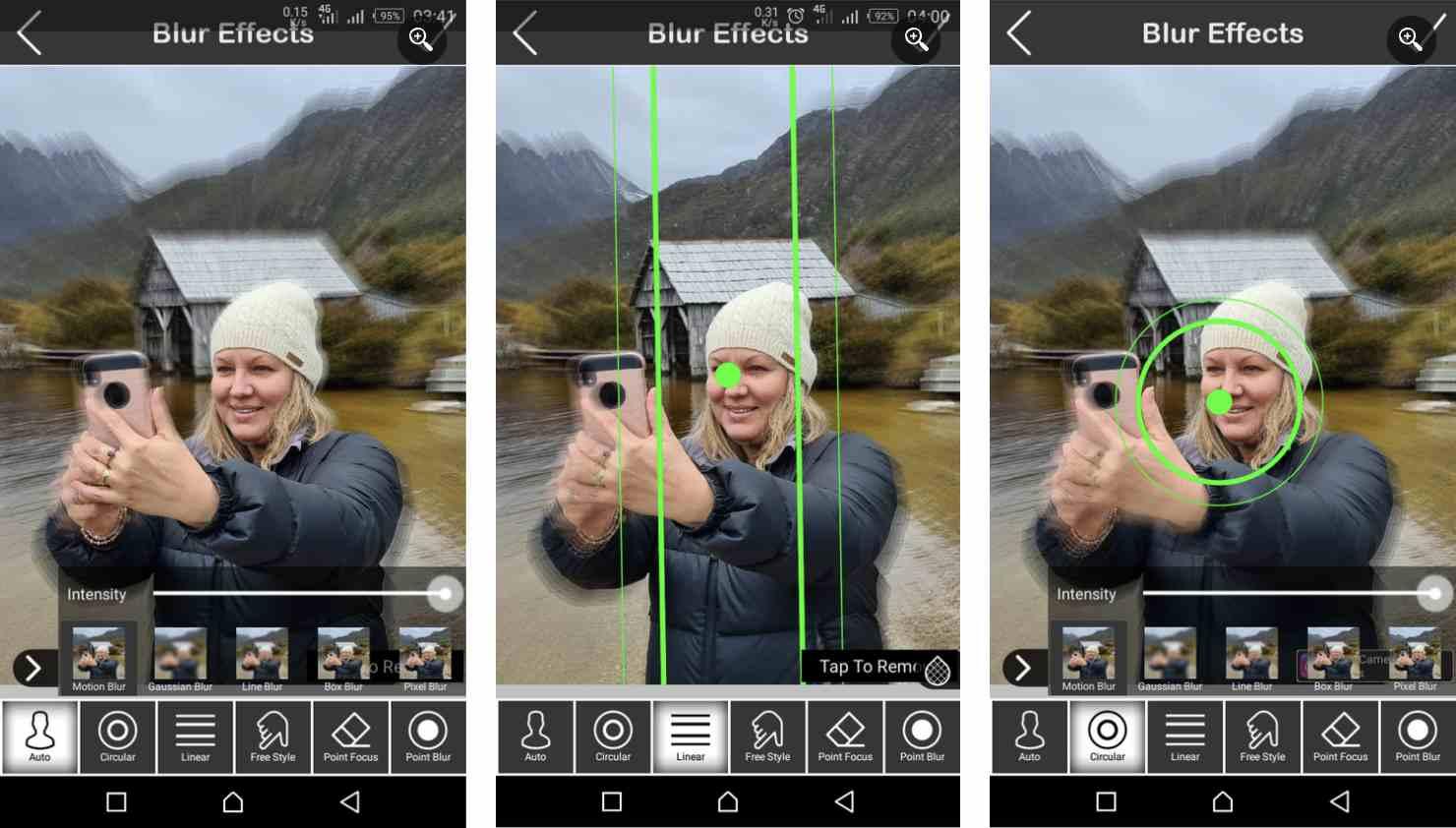 2. اپلیکیشن DSLR Camera Blur Effects