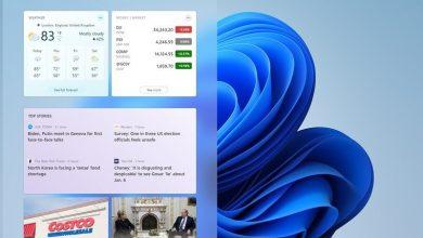 چگونه ویجت اخبار و علاقهمندیها را در نوار برنامههای ویندوز 11 غیرفعال کنیم؟