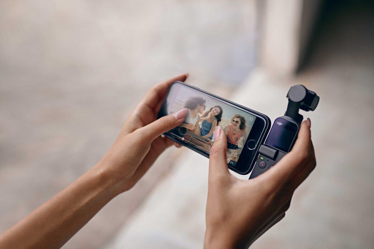 مشخصات و بررسی دوربین فیلمبرداری دیجیآی DJI Pocket 2