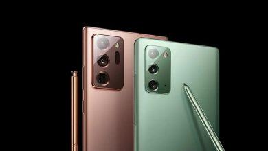 تلفن هوشمند Samsung Galaxy Note 20
