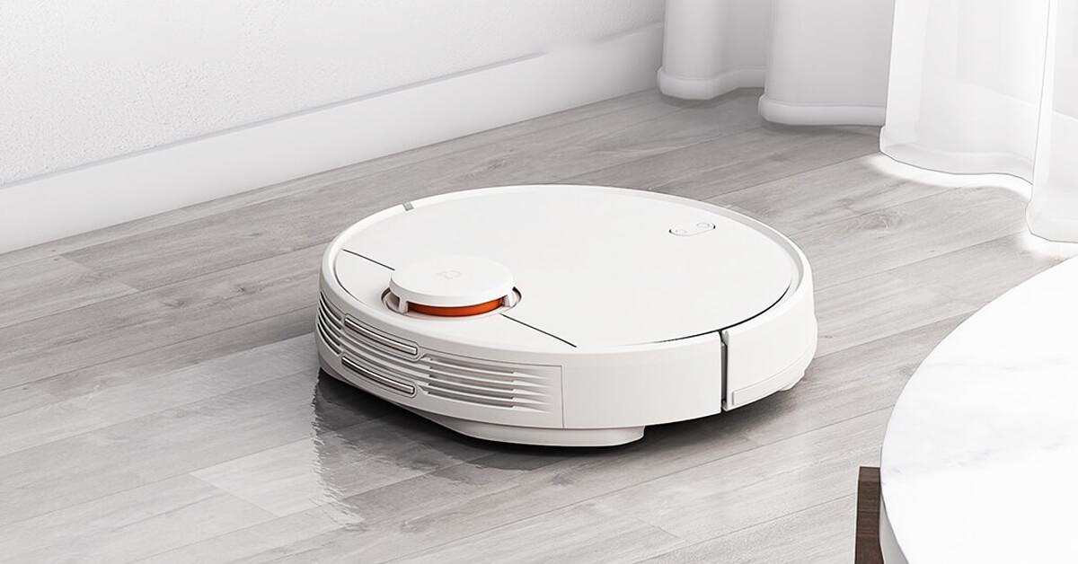 جاروبرقی رباتیک شیائومی مدل Mop P