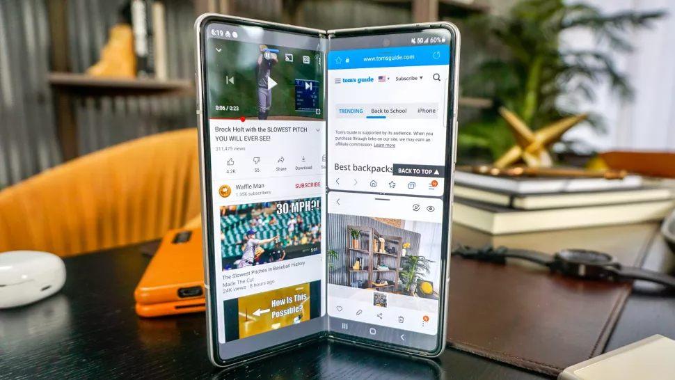 گوشی تاشوی سامسونگ مدل Galaxy Z Fold3